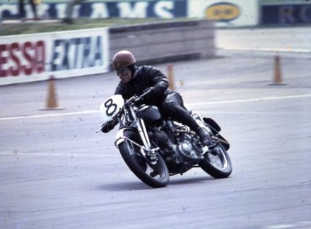 Tim at Silverstone 60's