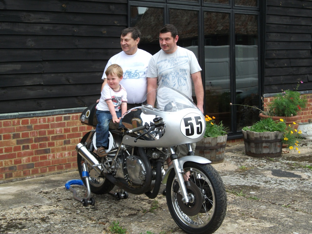 3 generations of bike nuts.