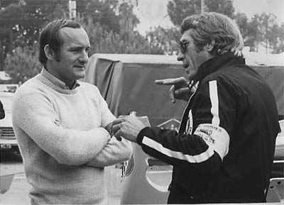 Mike Hailwood and Steve Mcqueen