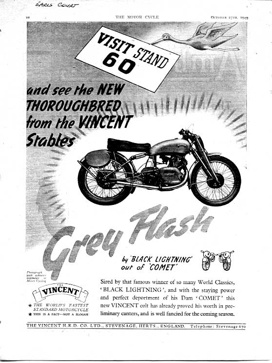 vincent grey flash advert